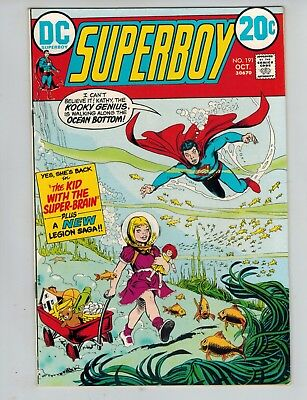Superboy 191 with the Legion of Super-Heroes vs Dr. Regulus F/ VF 1972