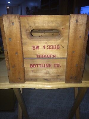Quench Bottling Wood Crate
