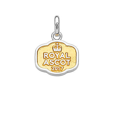 RES ML2984 LINKS OF LONDON Silver Ascot Horseshoe Charm