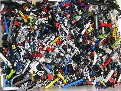 LEGO TECHNIC Mindstorms Bulk Lot 1 lb Pound of RANDOM Beams Gears Axles Parts