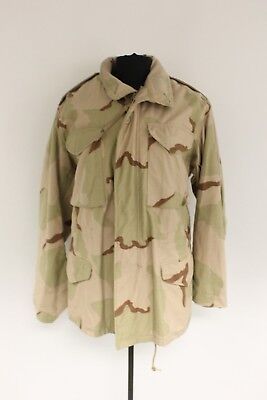 Military Issued Desert Cold Weather Field Coat, Various Sizes, Small Medium