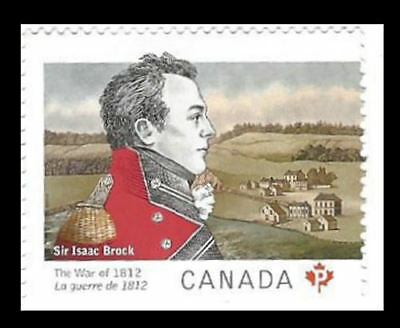 2012 - Canada The war of 1812 (Permanent Domestic Stamps)  Sc # 2554-55  MNH