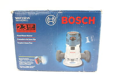 Bosch MRF23EVS 2.3 HP Fixed-Base Router 10,000-25,-000RPM BNIBS
