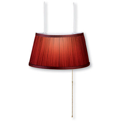 Over The Bed Lamp, Burgundy, by Collections Etc