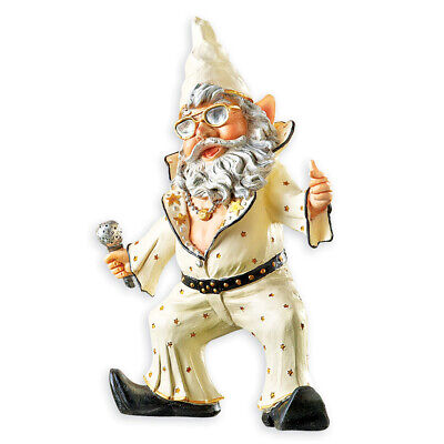 Party Gnomes Funny Outdoor Garden Statue Figurines, by Collections Etc