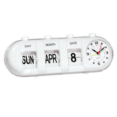 Easy Read Calendar Clock, by Collections Etc