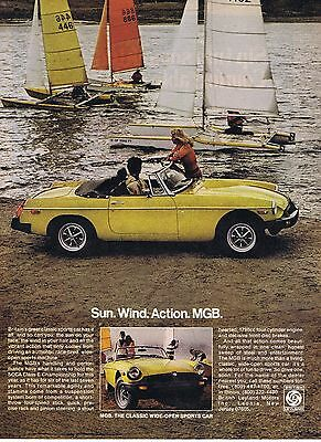 1978 Advertisement - MGB - SCCA CLASS E CHAMPIONSHIP