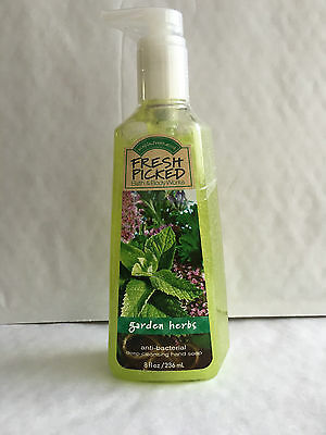 Bath & Body Works FRESH PICKED GARDEN HERBS Deep Cleansing Hand Soap 236 ml