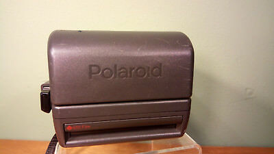 Vintage Polaroid One Step Close Up Instant Camera 600 Film Tested Flash Working
