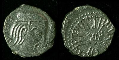 Silver Coin of the Western Kshatrapas (1st to 4th Century AD) (AI-1025-S)