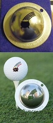 1 only TIN CUP GOLF BALL MARKER - POT OF GOLD- EASY TO DO