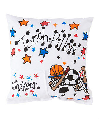 Personalized All Star Sports Tooth Fairy Pillow