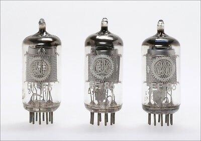 3x selected EF86 6CF8 VALVO audio tube -> TOP NOS tested >100% !