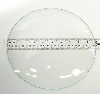 "Vintage 9-7/8"" Convex Clock Glass Mx32"
