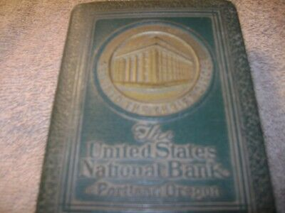 The United States National Bank of Portland, Oregon, Book Bank.