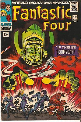 "MARVEL Comics - FANTASTIC FOUR #49 April, 1966 ""IF THIS BE DOOMSDAY!"""