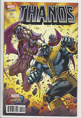 THANOS #10 Marvel Vs CAPCOM VARIANT Avengers pre Cosmic Ghost Rider 2017 NM- NM