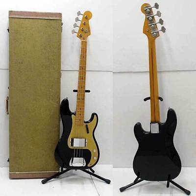 Fender USA / American Vintage '57 Precision Bass BLK Electric Bass Guitar (Used)