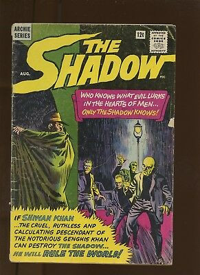 Shadow 1 GD/VG 3.0 * 1 Book Lot * 1st Archie Shadow! Lamont Cranston!
