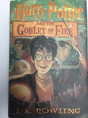 Harry Potter and the Goblet of Fire  by J. K. Rowling  HC-1st edition/1st print