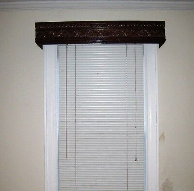 Lot of 11 Vintage Antique Wood Window Valance Curtain Door Box Covers NY PU80