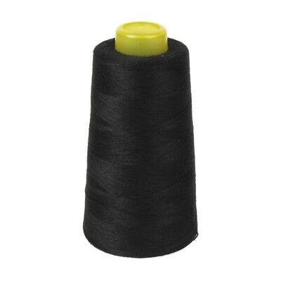 Cotton Sewing Thread for Sewing Machine 40S / 2 Unbleached (Black) I2W1