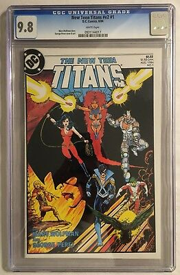 New Teen Titans #v2 #1 Cgc 9.8 Nm/mt! White Pages! High Grade! Combined Shipping