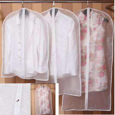 Clear Dust-proof Dress Clothes Cover Suit Dress Garment Bag Storage Protector
