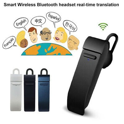 Real Time Earphone Translator 16 Languages Intelligent Wireless Bluetooth