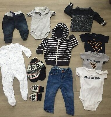 Baby Boys Clothes 6 9 Months Next M S Nike Bundle Jumper Hoodie