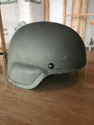 Genuine Issue MSA Ballistic Kevlar Advanced Combat Helmet (ACH)  Sz L