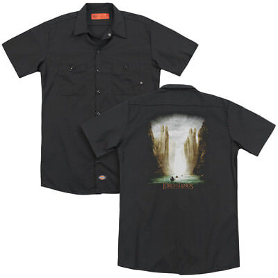 Lord of the Rings KINGS OF OLD Licensed Adult Dickies Work Shirt All Sizes