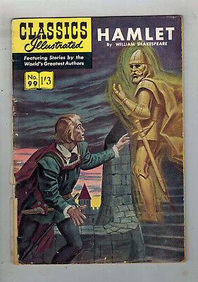 CLASSICS ILLUSTRATED COMIC No. 99 Hamlet HRN 125 - 1/3