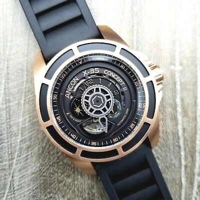 BRAND NEW ANCON X-35 SERIES CONCEPT II 45mm X-35C206 ROSE GOLD