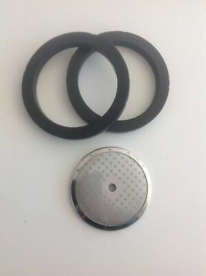 Fast Ship!  Rancilio OEM Espresso  Maintenance- 2 Group Gaskets & 1 Screen Italy