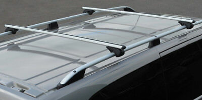 Cross Bars For Roof Rails To Fit Mercedes-Benz Vito W639 (03-14) 100KG Lockable