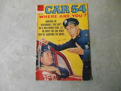 Dell Comics Car 54 Where are You? 1963 March-May No. 5 Fred Gwyne