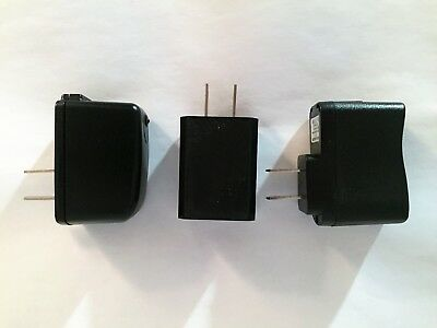 Lot of 3 Replacement Cell Phone Tablet USB Wall Travel Charger 5V 1A 700mA 600mA