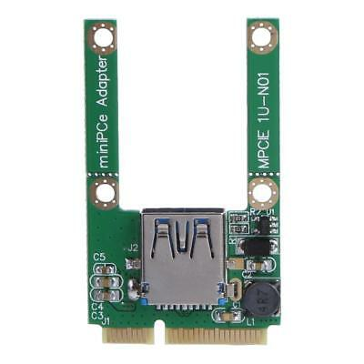 Mini PCI-E to USB3.0 PCI Express Card Adapter Expansion Card for Notebook