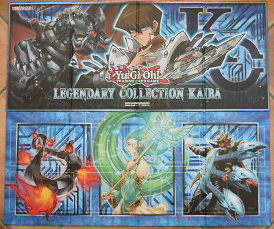 YuGiOh! Legendary Collection Kaiba Double-Sided Game Board / Playmat New Konami