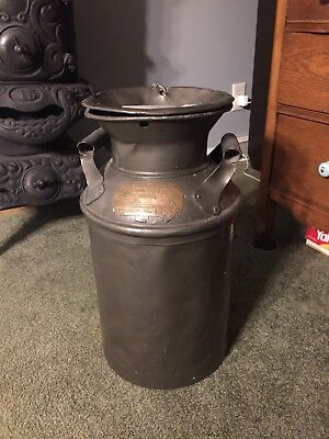 Antique Milk Can Brass Tag Middleport Ohio Meigs OH