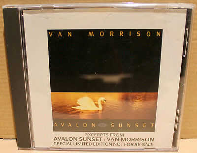 POLYDOR PROMO CD AST-1: Van Morrison ‎– Excerpts From Avalon Sunset - 1989 UK
