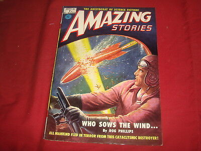 AMAZING STORIES #16   British UK Pulp Magazine 1952