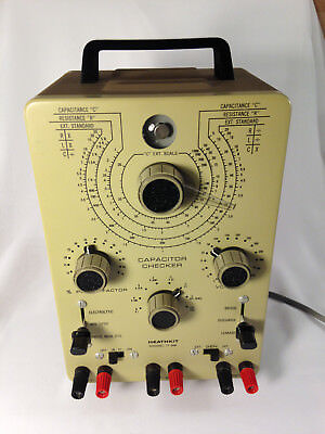 Heathkit Model IT-28 Capacitor Checker - Working and just calibrated!