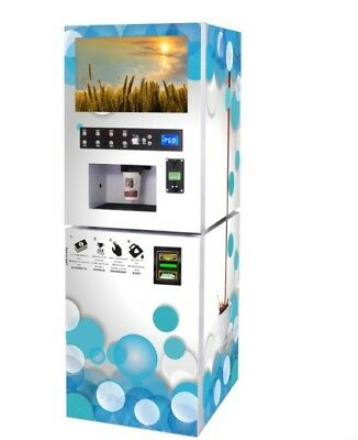 Protein shakes / Coffee Vending Machine 4 hot flavors with Bill acceptor