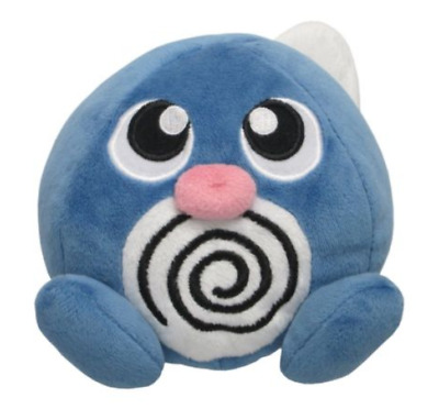 Poliwag PP-05  NWT  Pokemon Licensed Sanei All Star Collection Plush