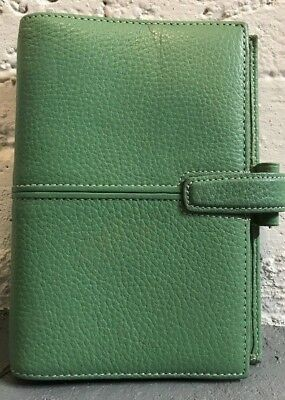 "Filofax Finchley Personal Deluxe Leather Agenda Planner Organizer Wallet 5"" X 7"""