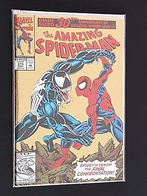 Amazing Spider-man (1993) - Venom Battle Cover - NM or better