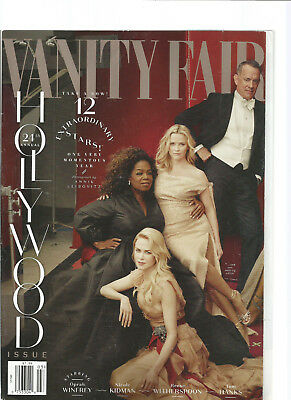 VANITY FAIR MAGAZINE 24TH ANNUAL HOLLYWOOD ISSUE 2018 No. 691