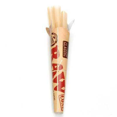 RAW Classic Pre Rolled Cone 1 1/4 1.25 - 1 PACK - Roll Papers 6 Cone Per Pack